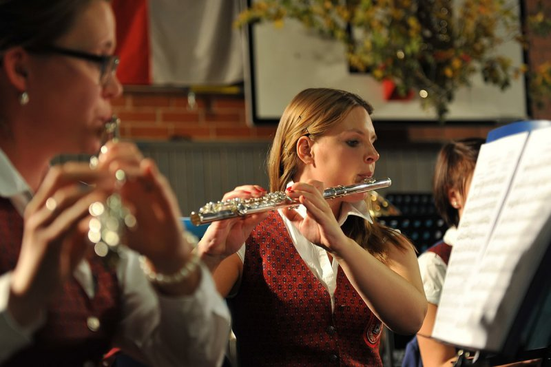 Querflöten des Hauptorchesters