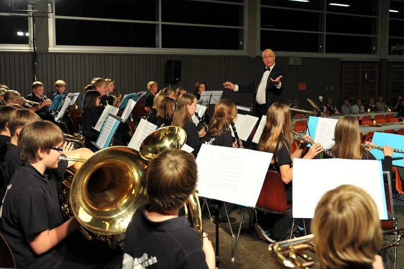 Das Jugendorchester mit Heimo Bierwirth