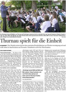 Bericht aus der Bayerischen Rundschau v. 2./3./4. Oktober 2009