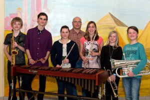Musikverein Thurnau D2 Absolventen 2013-org