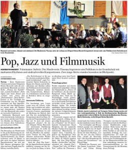 Bayerische Rundschau v. 27.10.2014
